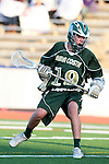 Redondo Beach, CA 05/11/10 - Spencer Young (MC # 19) in action during the 2010 Los Angeles Boys Lacrosse championship game, Mira Costa defeated Palos Verdes 12-10 at Redondo Union High School.