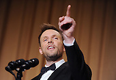 Comedian Joel McHale speaks at the annual White House Correspondents Association Gala at the Washington Hilton Hotel, May 3, 2014 in Washington, DC.<br /> Credit: Olivier Douliery / Pool via CNP