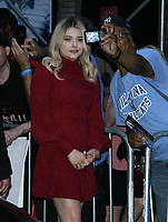 NEW YORK, NY August 02, 2018 Chloe Grace Moretz at The Late Show  to talk about her new movie The Miseducation of Cameron Post in New York. Auguest 02 , 2018 <br /> CAP/MPI/RW<br /> &copy;RW/MPI/Capital Pictures
