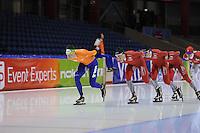 SCHAATSEN: HEERENVEEN: IJsstadion Thialf, 10-01-2013, Seizoen 2012-2013, Essent ISU EK allround training, , ©foto Martin de Jong