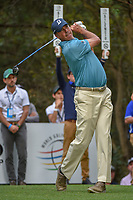 Matt Kuchar (USA) watches his tee shot on 16 during round 3 of the World Golf Championships, Mexico, Club De Golf Chapultepec, Mexico City, Mexico. 2/23/2019.<br /> Picture: Golffile | Ken Murray<br /> <br /> <br /> All photo usage must carry mandatory copyright credit (© Golffile | Ken Murray)