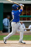 September 2, 2009: Jeremy Wise of the Ogden Raptors, Pioneer League Rookie Class A affiliate of the Los Angeles Dodgers, during a game at the Orem Owlz Ballpark in Orem, UT.  Photo by:  Matthew Sauk/Four Seam Images