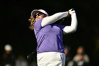 Lizette Salas (USA) plays her shot from the 18th tee during the Final Round at the Kia Classic,Park Hyatt Aviara Resort, Golf Club &amp; Spa, Carlsbad, California, USA. 3/25/18.<br /> Picture: Golffile | Bruce Sherwood<br /> <br /> <br /> All photo usage must carry mandatory copyright credit (&copy; Golffile | Bruce Sherwood)