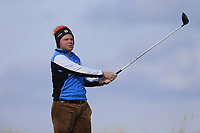 Thomas Neenan (Lahinch) during the first round of matchplay at the 2018 West of Ireland, in Co Sligo Golf Club, Rosses Point, Sligo, Co Sligo, Ireland. 01/04/2018.<br /> Picture: Golffile | Fran Caffrey<br /> <br /> <br /> All photo usage must carry mandatory copyright credit (&copy; Golffile | Fran Caffrey)