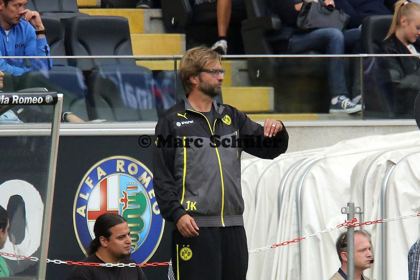 Trainer Juergen Klopp (BvB) - Eintracht Frankfurt vs. Borussia Dortmund