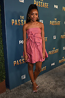 "SANTA MONICA - JANUARY 10: Saniyya Sidney attends the red carpet premiere party for FOX's ""The Passage"" at The Broad Stage on January 10, 2019, in Santa Monica, California. (Photo by Frank Micelotta/Fox/PictureGroup)"