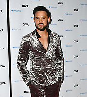 Gareth Gates at the DIVA Magazine Awards - Lesbian and bisexual magazine hosts annual awards ceremony at Waldorf Hilton, London, 8th June 2018, England, UK.<br /> CAP/JOR<br /> &copy;JOR/Capital Pictures