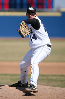 April 5, 2009:  /rp/ River McWilliams (24) of the University of Buffalo Bulls during a game at Amherst Audubon Field in Buffalo, NY.  Photo by:  Mike Janes/Four Seam Images
