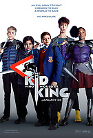 POSTER ART<br /> The Kid Who Would Be King (2019) <br /> *Filmstill - Editorial Use Only*<br /> CAP/RFS<br /> Image supplied by Capital Pictures