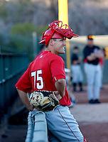 Tim Duff / Scottsdale Scorpions 2008 Arizona Fall League..Photo by:  Bill Mitchell/Four Seam Images