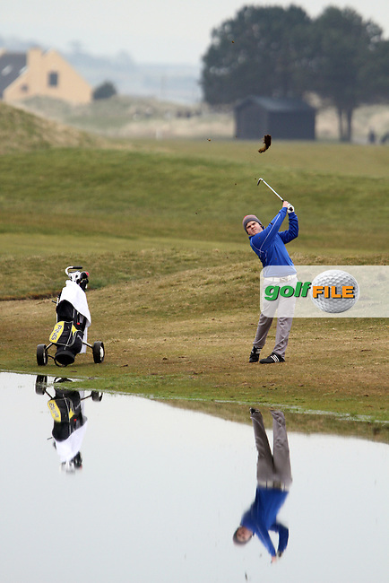 Niall Worth (The Island) at the Hilary Golf Society at Seapoint Golf Club, Co.Louth...(Photo Jenny Matthews/www.golffile.ie)