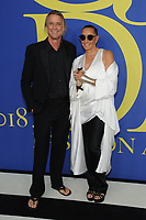 BROOKLYN, NY - JUNE 4: Russell James and Donna Karan at the 2018 CFDA Fashion Awards at the Brooklyn Museum in New York City on June 4, 2018. <br /> CAP/MPI/JP<br /> &copy;JP/MPI/Capital Pictures