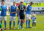 St Johnstone v Ross County&hellip;12.05.18&hellip;  McDiarmid Park    SPFL<br />Murray Davidson and daughter<br />Picture by Graeme Hart. <br />Copyright Perthshire Picture Agency<br />Tel: 01738 623350  Mobile: 07990 594431