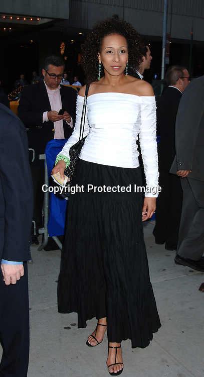 """Tamara Tunie ..atThe Broadway Opening of """"Faith Healer"""" on May 4, 2006..at The Booth Theatre. ..Robin Platzer, Twin Images"""