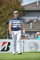 Jon Rahm (ESP) heads down 17 during 1st round of the World Golf Championships - Bridgestone Invitational, at the Firestone Country Club, Akron, Ohio. 8/2/2018.<br /> Picture: Golffile | Ken Murray<br /> <br /> <br /> All photo usage must carry mandatory copyright credit (© Golffile | Ken Murray)