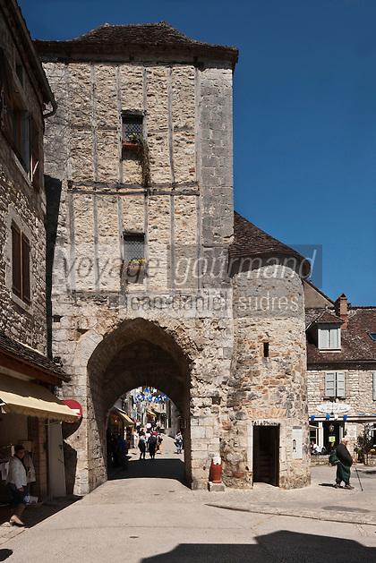 Europe/Europe/France/Midi-Pyrénées/46/Lot/Rocamadour: La Porte du Figuier