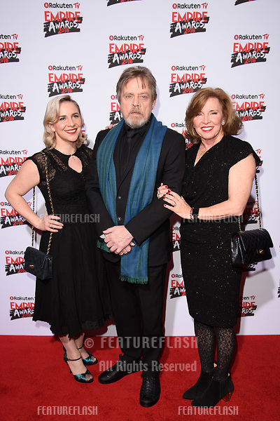 Mark Hamill arriving for the Empire Awards 2018 at the Roundhouse, Camden, London, UK. <br /> 18 March  2018<br /> Picture: Steve Vas/Featureflash/SilverHub 0208 004 5359 sales@silverhubmedia.com