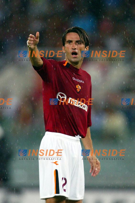 Roma 25/8/2003<br /> Roma  Betis  Siviglia 2-2<br /> Cristian Panucci (AS Roma)<br /> Foto Staccioli / Insidefoto