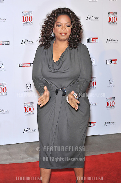 "Oprah Winfrey at The Hollywood Reporter's Annual ""Power100: Women in Entertainment"" breakfast at the Beverly Hills Hotel..December 5, 2008  Beverly Hills, CA.Picture: Paul Smith / Featureflash"