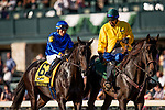 OCT 05: Maxfield and Jose Ortiz at the Claiborne Breeders Futurity Stakes at Keeneland Racecourse, Kentucky on October 05, 2019. Evers/Eclipse Sportswire/CSM