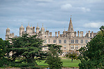 Stamford, Lincolnshire, United Kingdom, 7th September 2019, A general view of Burghley House during the Cross Country Phase on Day 3 of the 2019 Land Rover Burghley Horse Trials, Credit: Jonathan Clarke/JPC Images