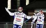 Stockholm 2015-01-16 Bandy Elitserien Hammarby IF - IFK Kung&auml;lv :  <br /> Kung&auml;lvs Mikael Lindberg sl&aring;r ut med armarna under matchen mellan Hammarby IF och IFK Kung&auml;lv <br /> (Foto: Kenta J&ouml;nsson) Nyckelord:  Elitserien Bandy Zinkensdamms IP Zinkensdamm Zinken Hammarby Bajen HIF IFK Kung&auml;lv depp besviken besvikelse sorg ledsen deppig nedst&auml;md uppgiven sad disappointment disappointed dejected arg f&ouml;rbannad ilsk ilsken sur tjurig angry