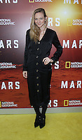 NEW YORK, NY-October 26: Louisa Krause  at National Geographic Channel presents the Epic Six-Part Event Series MARS premiere at the School of Visual Arts  in New York.October 26, 2016. Credit:RW/MediaPunch