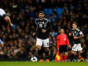 23rd March 2018, Etihad Stadium, Manchester, England; International Football Friendly, Italy versus Argentina; Leonardo Bonucci of Italy on the ball