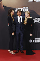 Cobie Smulders, Tom Cruise and Danika Yarosh attending the &quot;Jack Reacher: Never Go Back&quot; (german title: &quot;Jack Reacher: Kein Weg zurueck&quot;) premiere held at CineStar, Sony Center, Potsdamer Platz, Berlin, Germany, 21.10.2016. <br /> Photo by Christopher Tamcke/insight media /MediaPunch ***FOR USA ONLY***
