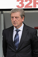 Pictured: Manager Roy Hodgson of West Bromwich Albion. Saturday 17 September 2011<br /> Re: Premiership football Swansea City FC v West Bromwich Albion at the Liberty Stadium, south Wales.