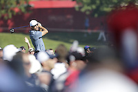 Raffa Cabrera-Bello (Team Europe) on the 3rd tee during the Friday afternoon Fourball at the Ryder Cup, Hazeltine national Golf Club, Chaska, Minnesota, USA.  30/09/2016<br /> Picture: Golffile | Fran Caffrey<br /> <br /> <br /> All photo usage must carry mandatory copyright credit (&copy; Golffile | Fran Caffrey)