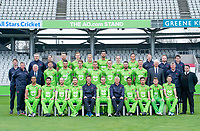 Picture By Allan McKenzie/SWpix.com - 11/04/18 - Cricket - Lancashire County Cricket Club Photo Call Media Day 2018 - Emirates Old Trafford, Manchester, England - Lancashire County Cricket Club Team Photo 2018.