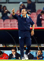 during the Europa  League Group D soccer match between SSC Napoli and Midtjylland at the San Paolo  Stadium in NaplesNovember 05, 2015