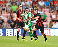 Lewis Cook of AFC Bournemouth vies for the ball as Jack Simpson of AFC Bournemouth looks on during AFC Bournemouth vs Real Betis, Friendly Match Football at the Vitality Stadium on 3rd August 2018
