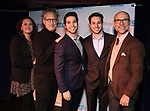 Jessica Chase, Bernie Telsey, Jeff Kuperman, Rick Kuperman, Will Cantler during The Third Annual SDCF Awards at The The Laurie Beechman Theater on November 12, 2019 in New York City.