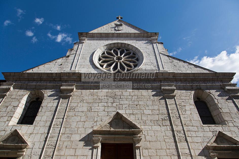 Europe/France/Rhône-Alpes/74/Haute-Savoie/Annecy; la Cathédrale Saint-Pierre