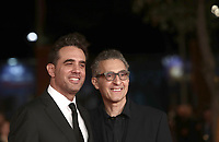 "Gli attori statunitensi Bobby Cannavale (s) and John Turturro (d) posa durante il red carpet per la presentazione del film ""Motherless Brooklyn"" alla 14^ Festa del Cinema di Roma all'Aufditorium Parco della Musica di Roma, 17 ottobre 2019.<br /> U.S. actors Bobby Cannavale (l) and John Turturro (r)  pose during the red carpetl to present the movie ""Motherless Brooklyn"" during the 14^ Rome Film Fest at Rome's Auditorium, on 17 october 2019.<br /> UPDATE IMAGES PRESS/Isabella Bonotto"