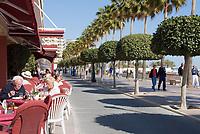 ESP, Spanien, Andalusien, Provinz Málaga, Costa del Sol, Marbella: Strandpromenade | ESP, Spain, Andalusia, Costa del Sol, Marbella: sea-front promenade