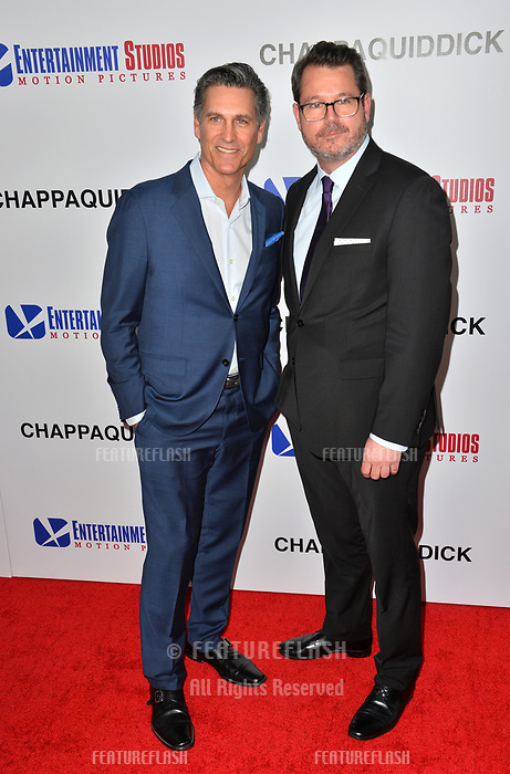 Mark Ciardi &amp; Campbell McInnes  at the premiere for &quot;Chappaquiddick&quot; at the Samuel Goldwyn Theatre, Los Angeles, USA 28 March 2018<br /> Picture: Paul Smith/Featureflash/SilverHub 0208 004 5359 sales@silverhubmedia.com