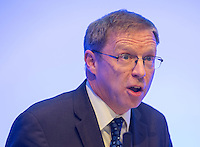 05 December 2016 - London, England - Mind CEO Paul Farmer  speaks during a briefing with business leaders to discuss the importance of workplace wellbeing, as part of the Heads Together campaign, at Unilever, in London. Photo Credit: ALPR/AdMedia