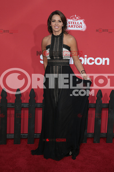 WESTWWOD, CA - October 22: Luciana Barroso, At The Premiere Of Paramount Pictures' 'Suburbicon' At the Village Theatre California on October 22, 2017. Photo Credit: Faye Sadou /Media Punch /NortePhoto.com