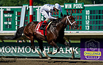 July 18, 2020: Scenes from an undercard race on Haskell Invitational Day at Monmouth Park Racecourse in Oceanport, New Jersey. Charles Toler/Eclipse Sportswire/CSM