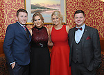 Pictured at the Westport GAA Club dinner dance at Hotel Westport were Liam Staunton, Clare O&rsquo;Malley, Maria Harrington and James McHale.<br /> Pic Conor McKeown