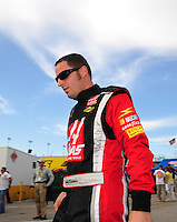 Jul. 4, 2008; Daytona Beach, FL, USA; NASCAR Sprint Cup Series driver Johnny Sauter during qualifying for the Coke Zero 400 at Daytona International Speedway. Mandatory Credit: Mark J. Rebilas-
