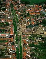 Luchtfoto's van kerken