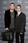 Char Defrancesco (left) and Marc Jacobs arrives at the WSJ. Magazine 2017 Innovator Awards at The Museum of Modern Art in New York City, on November 1, 2017.