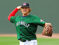 6 May 2007: Joshua Papelbon from a game between the Greenville Drive, Class A affiliate of the Boston Red Sox, and the Augusta GreenJackets at West End Field in Greenville, S.C. Photo by:  Tom Priddy/Four Seam Images
