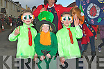 YOUNG JEDWARDS: Young Jedwards who put on a performance at the Kilflynn St Patricks Day Parade on Saturday with their cousin, L-r: Conor,Ollie and Darragh Breen.....