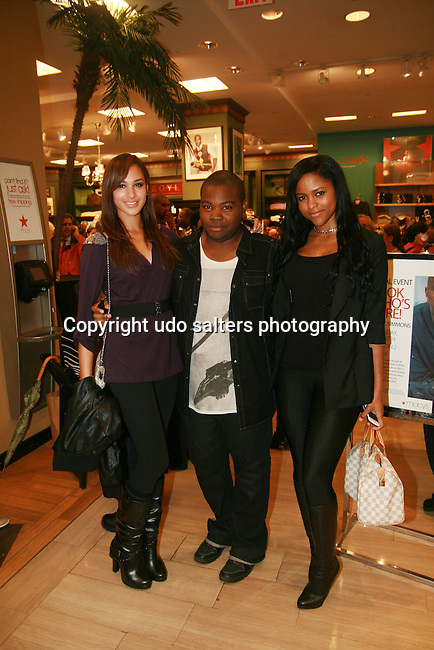 Hannah, Naquan and Atalya Slater attends Russell Simmons Celebrates The Grand Opening of the New Arygyleculture Men's Shop at Macy*s Herald Square, NY