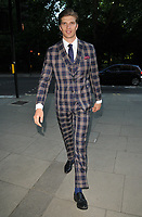 Toby Huntington-Whiteley at the LFW (Men's) s/s 2019 GQ Dinner to close this season's London Fashion Week Men's, Palm Court at The Principal London, Russell Square, London, England, UK, on Monday 11 June 2018.<br /> CAP/CAN<br /> &copy;CAN/Capital Pictures